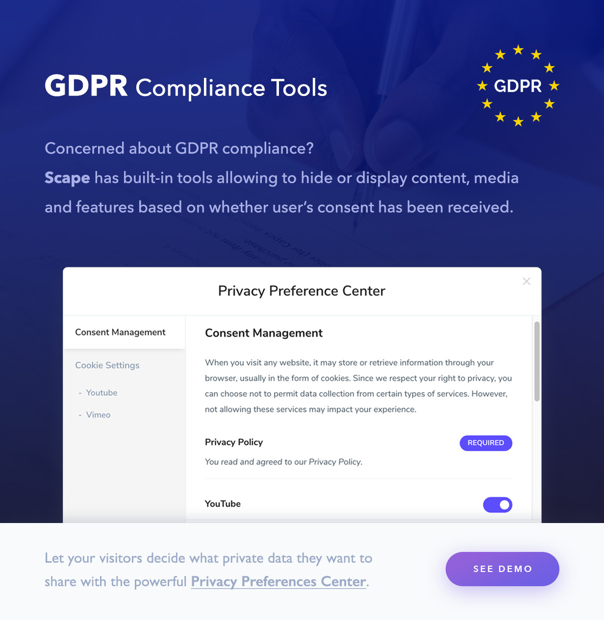 GDPR compliance tools